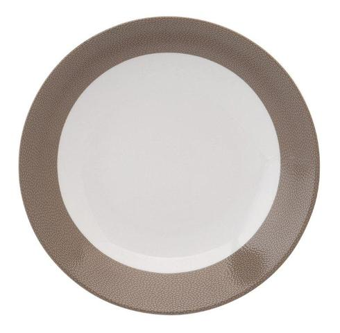 Seychelles taupe Deep Cereal Plate