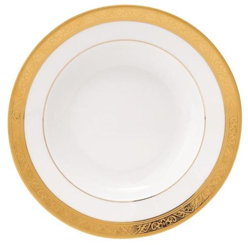 Trianon gold Rim Soup Plate