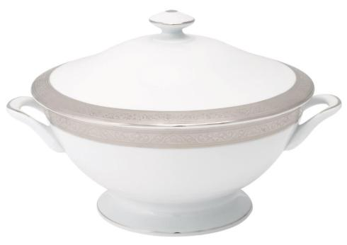 Trianon platinum Footed Soup Tureen With Lid