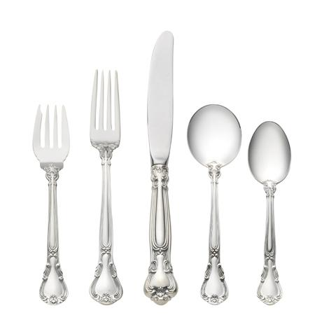 Chantilly 5 Piece Place Setting with Cream Soup Spoon