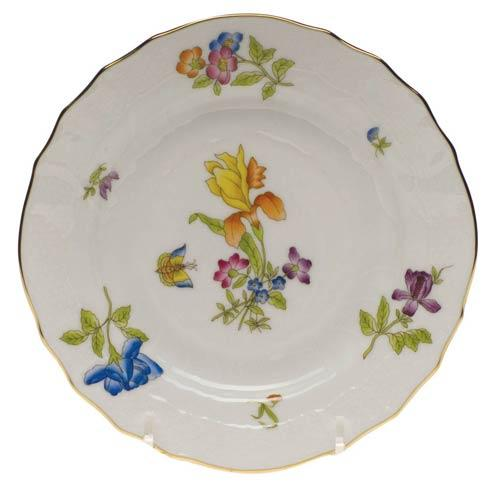 Antique Iris Bread & Butter Plate - Mo 04