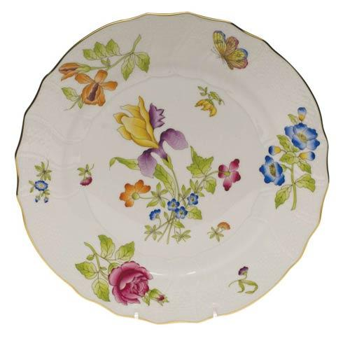 Antique Iris Dinner Plate - Motif 01