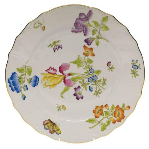 Antique Iris Dinner Plate - Motif 02