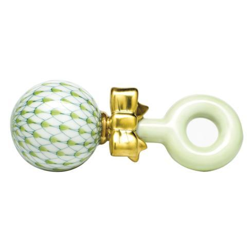 Baby Rattle - Key Lime