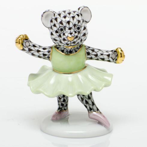 Ballerina Bear - Black