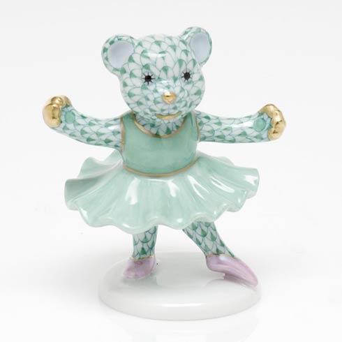 Ballerina Bear - Green