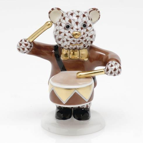 Little Drummer Bear - Chocolate
