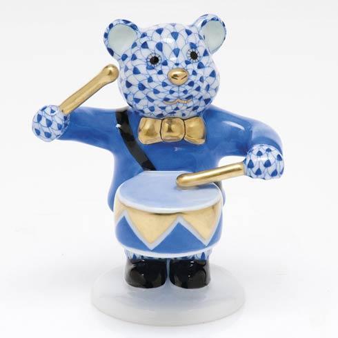 Little Drummer Bear - Sapphire