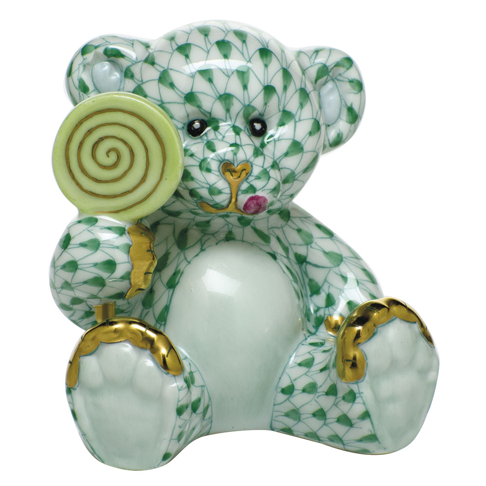 Sweet Tooth Teddy - Green