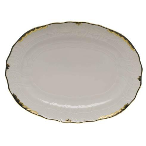 Princess Victoria Black Platter