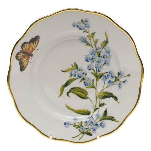 American Wildflowers Blue Wood Aster Salad Plate