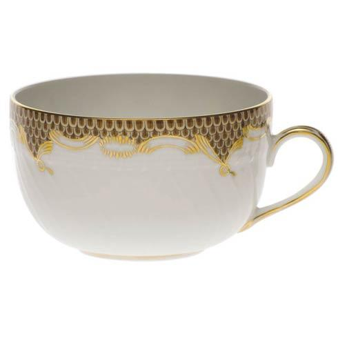 Fish Scale Brown Canton Cup - Brown