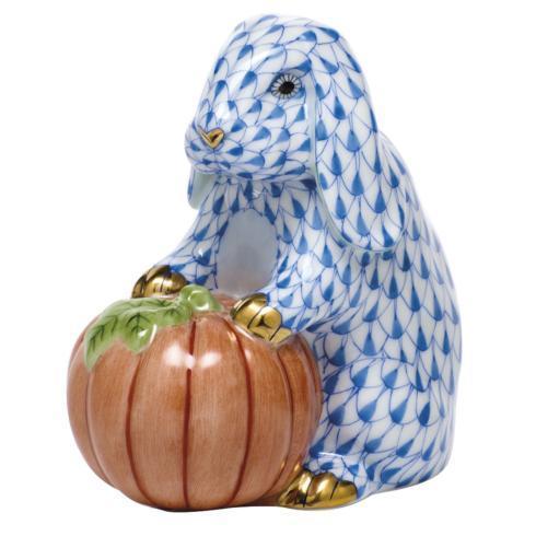 Autumn Bunny - Blue