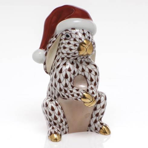 Santa Bunny - Chocolate