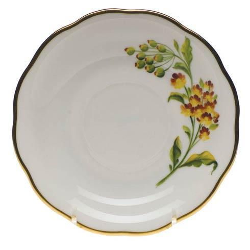 American Wildflowers Butterfly Weed Tea Saucer