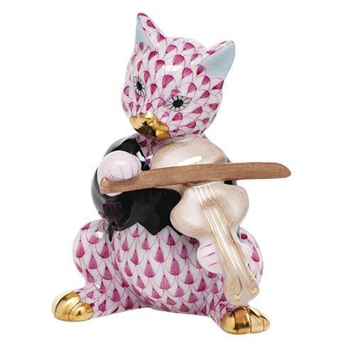 Cat with Fiddle - Raspberry