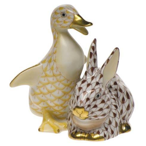 Duckling & Bunny - Ylw & Brn