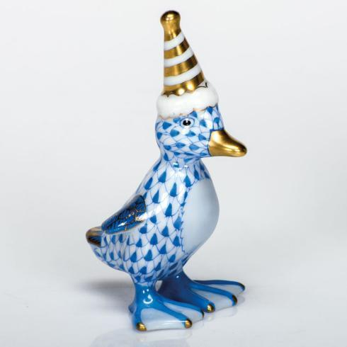 Party Duckling - Blue