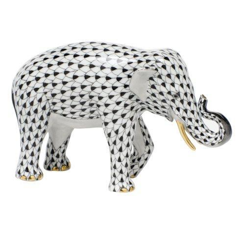 Asian Elephant - Black