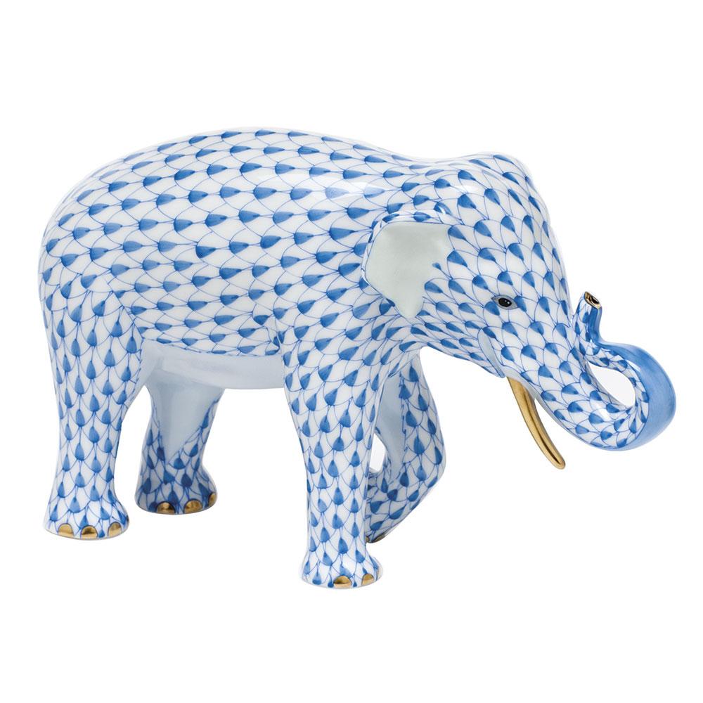Asian Elephant - Blue