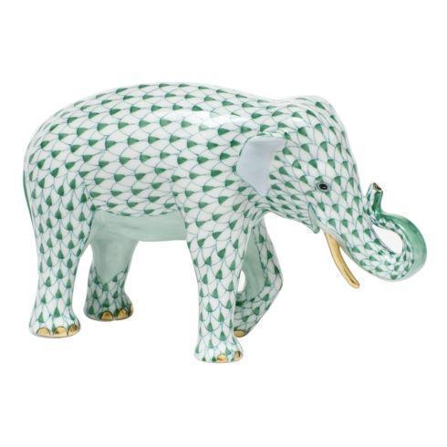 Asian Elephant - Green