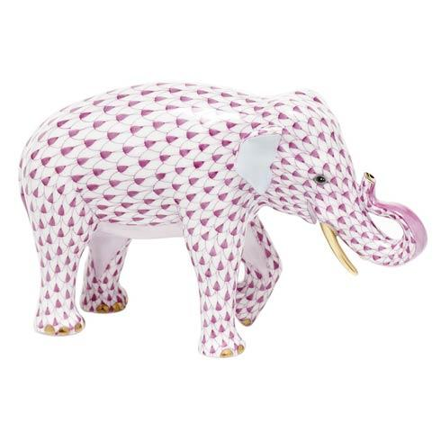 Asian Elephant - Raspberry