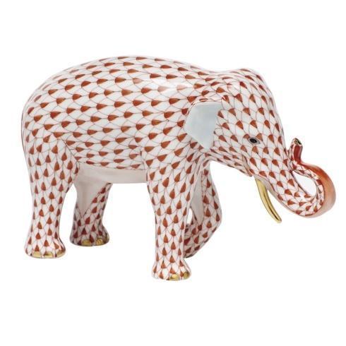 Asian Elephant - Rust
