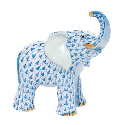 Young Elephant - Blue
