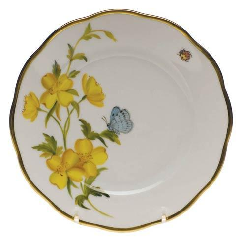 American Wildflowers Evening Primrose Bread & Butter Plate