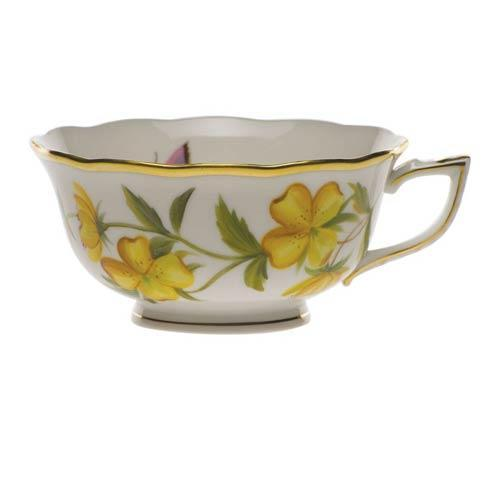 American Wildflowers Evening Primrose Tea Cup