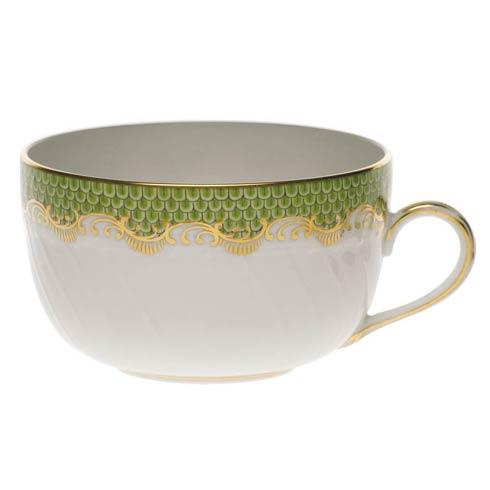 Fish Scale Evergreen Canton Cup - Evergreen