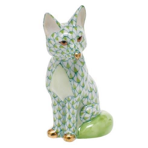 Sitting Fox - Key Lime