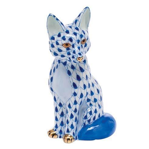 Sitting Fox - Sapphire