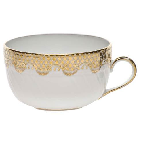 Fish Scale Gold Canton Cup - Gold