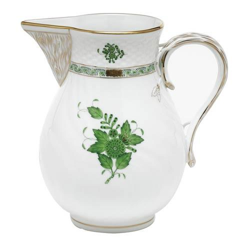 Chinese Bouquet Green Pitcher - Green