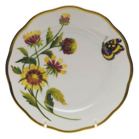 American Wildflowers Indian Blanket Bread & Butter Plate