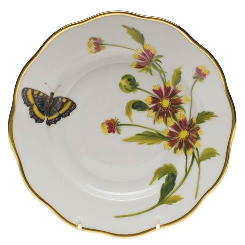 American Wildflowers Indian Blanket Salad Plate