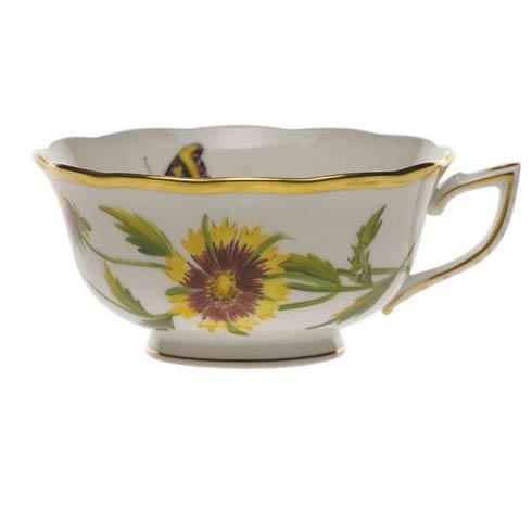 American Wildflowers Indian Blanket Tea Cup
