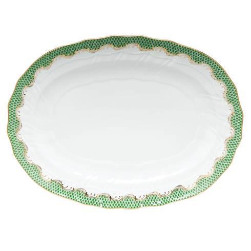 Fish Scale Jade Platter - Jade