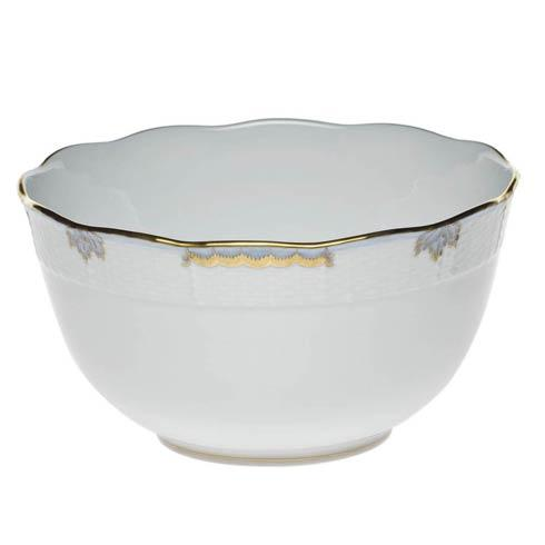 Princess Victoria Light Blue Round Bowl