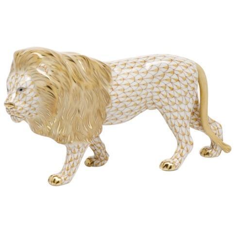 Standing Lion - Butterscotch