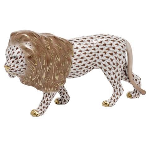 Standing Lion - Chocolate