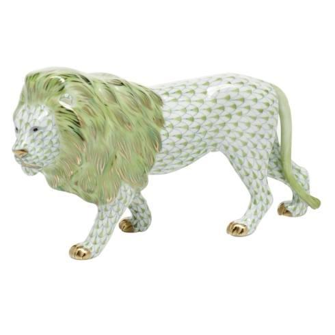 Standing Lion - Key Lime