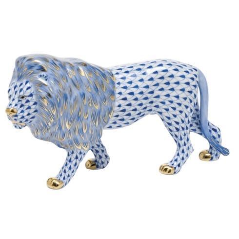 Standing Lion - Sapphire