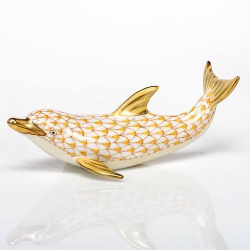 Playful Dolphin - Butterscotch
