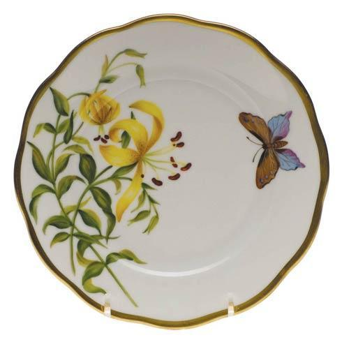 American Wildflowers Meadow Lily Bread & Butter Plate