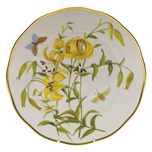 American Wildflowers Meadow Lily Dinner Plate