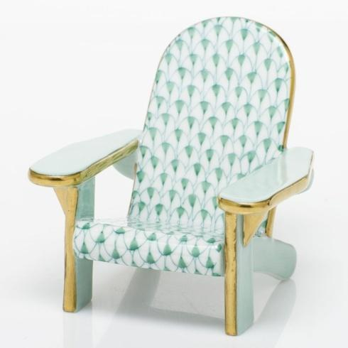 Adirondack Chair - Green