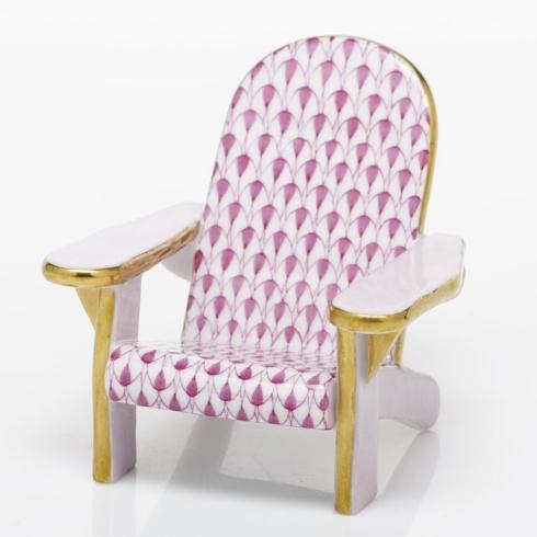 Adirondack Chair - Raspberry