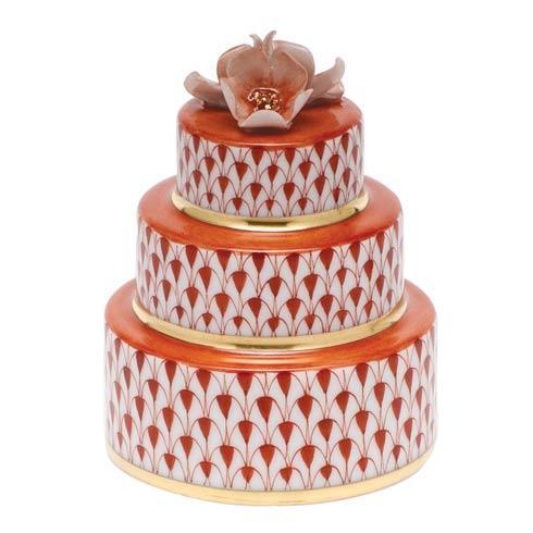 Wedding Cake - Rust